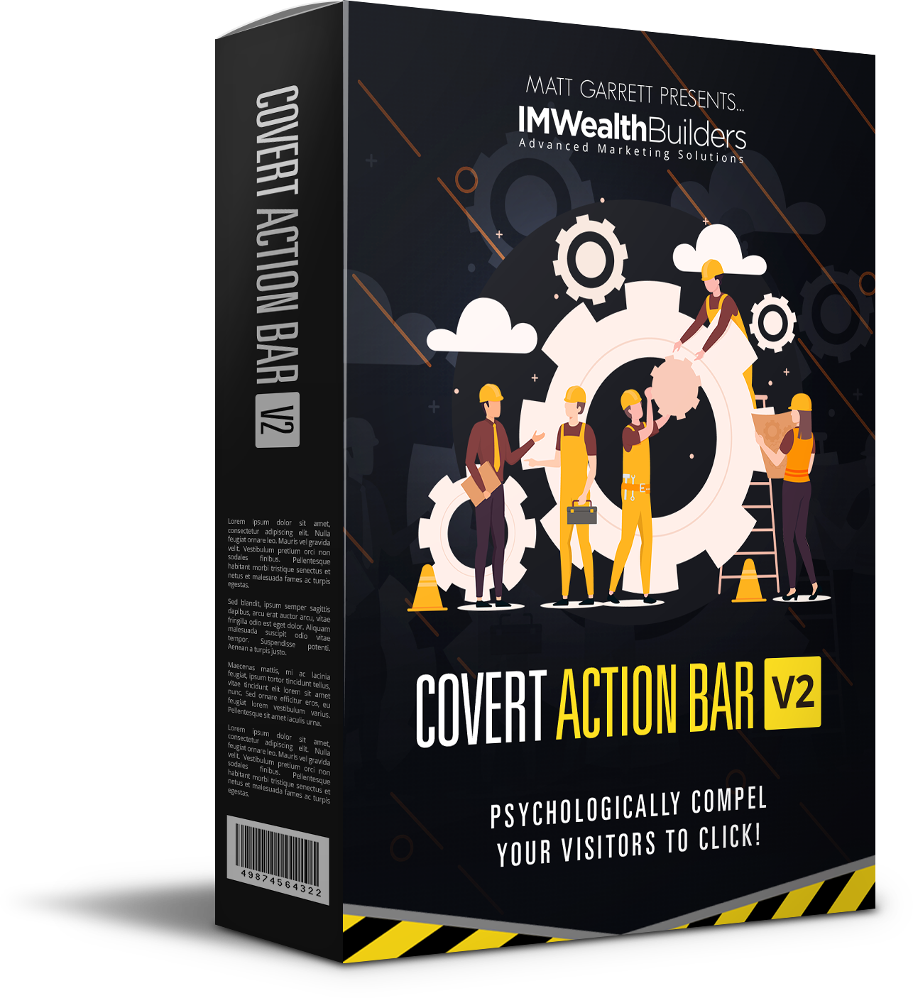 covert action bar
