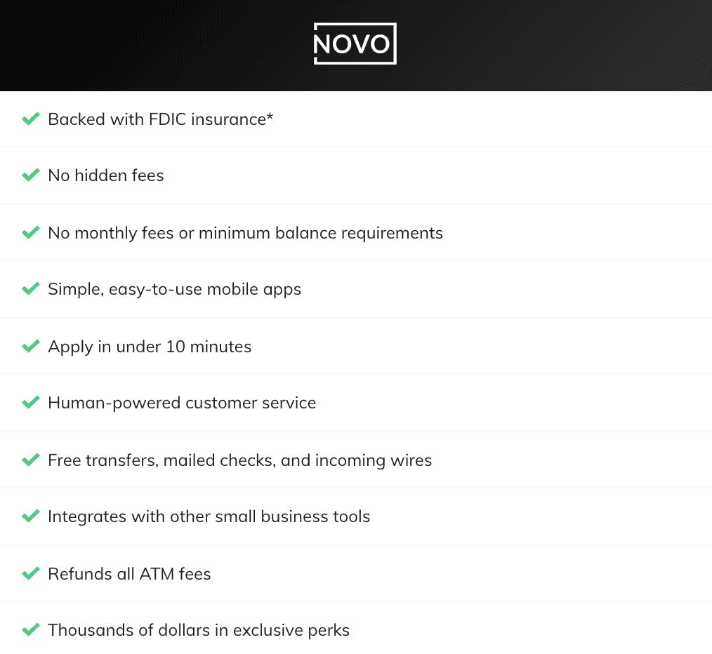 Novo Bank Review